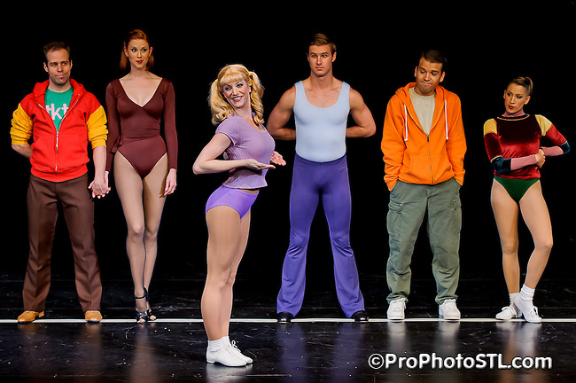 """""""A Chorus Line"""" by Stages St. Louis press photos"""
