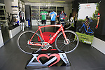 Showroom at the De Rosa factory, Cusano Milanino, Italy. 12th October 2018.<br /> Picture: Eoin Clarke | Cyclefile<br /> <br /> <br /> All photos usage must carry mandatory copyright credit (© Cyclefile | Eoin Clarke)