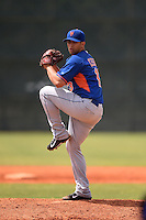 New York Mets pitcher Luis Cessa (13) during a minor league spring training game against the Miami Marlins on March 28, 2014 at Roger Dean Stadium in Jupiter, Florida.  (Mike Janes/Four Seam Images)