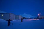 village de Qikiqtarjuaq de nuit