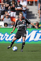 DC United defender Bryan Namoff (26) looks for a teammate to pass to. DC United defeated Chivas USA 2-1, at RFK Stadium in Washington DC, Sunday May 6, 2007.