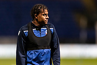 Bolton Wanderers' Jamie Mascoll warming up before the match <br /> <br /> Photographer Andrew Kearns/CameraSport<br /> <br /> The EFL Sky Bet League Two - Bolton Wanderers v Mansfield Town - Tuesday 3rd November 2020 - University of Bolton Stadium - Bolton<br /> <br /> World Copyright © 2020 CameraSport. All rights reserved. 43 Linden Ave. Countesthorpe. Leicester. England. LE8 5PG - Tel: +44 (0) 116 277 4147 - admin@camerasport.com - www.camerasport.com
