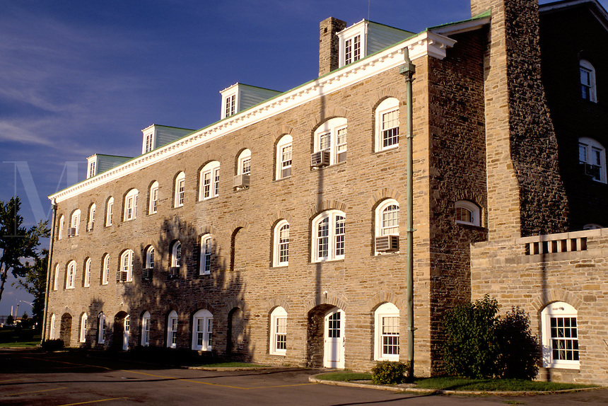 Ogdensburg, New York, NY, Custom House the oldest federal government building in the United States of America.