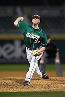 Charlotte 49ers relief pitcher Micah Wells (21) in action against the Georgia Bulldogs at BB&T Ballpark on March 8, 2016 in Charlotte, North Carolina. The 49ers defeated the Bulldogs 15-4. (Brian Westerholt/Four Seam Images)
