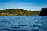 Connecticut River shoreline <br />from River Quest tour boat.