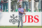 Antonio Lascuna of Philippines tees off the first hole during the 58th UBS Hong Kong Golf Open as part of the European Tour on 08 December 2016, at the Hong Kong Golf Club, Fanling, Hong Kong, China. Photo by Marcio Rodrigo Machado / Power Sport Images