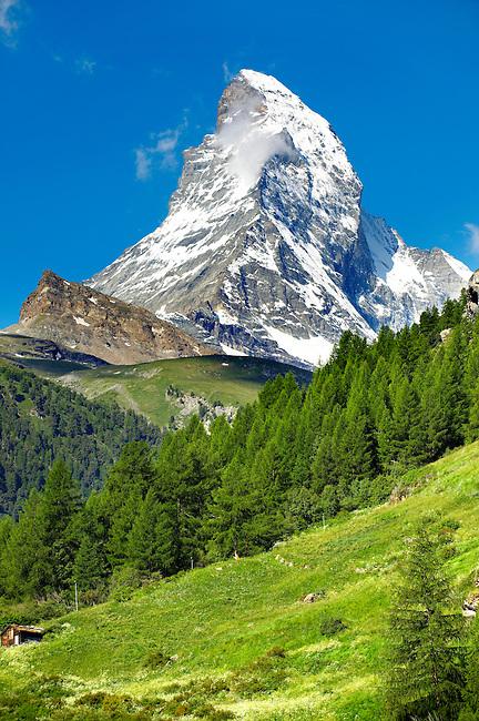 Matterhorn mountain peak - Swiss Alps - Switzerland
