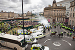 © Joel Goodman - 07973 332324 - all rights reserved . 28/08/2010 . Bradford , UK . The English Defence League ( EDL ) hold a demonstration in Bradford . Photo credit : Joel Goodman