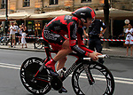 Cadel Evans (AUS) BMC Racing Team in action during Stage 19 of the 2010 Tour de France an individual time trial running 52km from Bordeaux to Pauillac, France. 24th July 2010.<br /> (Photo by Eoin Clarke/NEWSFILE).<br /> All photos usage must carry mandatory copyright credit (© NEWSFILE | Eoin Clarke)