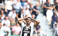 Calcio, Serie A: Juventus - Sassuolo, Turin, Allianz Stadium, September 16, 2018.<br /> Juventus' Cristiano Ronaldo reacts during the Italian Serie A football match between Juventus and  Sassuolo at Torino's Allianz stadium, September 16, 2018.<br /> UPDATE IMAGES PRESS/Isabella Bonotto