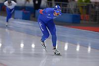 SPEEDSKATING: 22-11-2019 Tomaszów Mazowiecki (POL), ISU World Cup Arena Lodowa, 5000m Men Division A, Davide Ghiotto (ITA), ©photo Martin de Jong