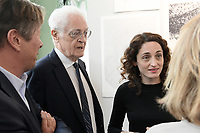 Lionel JOSPIN, Eva JOSPIN - VERNISSAGE FIAC PARIS 18/10/2017 - FRANCE
