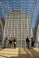 The Kimmel Center for the Preforming Arts reopened the  roof top garden Tuesday May 21, 2002 in Philadelphia as they usher in their summer sesaon of musical events. (AP Photo/Brad C Bower)