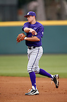 Robert Pehl #17 of the Washington Huskies during a game against the UCLA Bruins at Jackie Robinson Stadium on March 17, 2013 in Los Angeles, California. (Larry Goren/Four Seam Images)