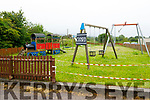 Camp Community Playground closed on Tuesday.