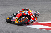 3rd October 2021; Austin, Texas, USA;  Marc Marquez of Spain and Repsol Honda Team through turn 15 during the MotoGP Red Bull Grand Prix of the Americas  at Circuit of The Americas in Austin, Texas.