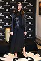 Liv Tyler attends Belstaff Ginza store opening in Tokyo