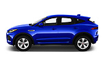 Car driver side profile view of a 2018 Jaguar E-PACE R-Dynamic S 4WD 5 Door SUV