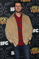 """LOS ANGELES, CA - JANUARY 07: Jon Heder arriving at the Los Angeles Screening Of IFC's """"The Spoils Of Babylon"""" held at the Directors Guild Of America on January 7, 2014 in Los Angeles, California. (Photo by Xavier Collin/Celebrity Monitor)"""