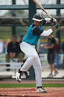 John Malcom (14) of Detroit Country Day High School in West Bloomfield, Michigan during the Under Armour All-American Pre-Season Tournament presented by Baseball Factory on January 14, 2017 at Sloan Park in Mesa, Arizona.  (Art Foxall/MJP/Four Seam Images)