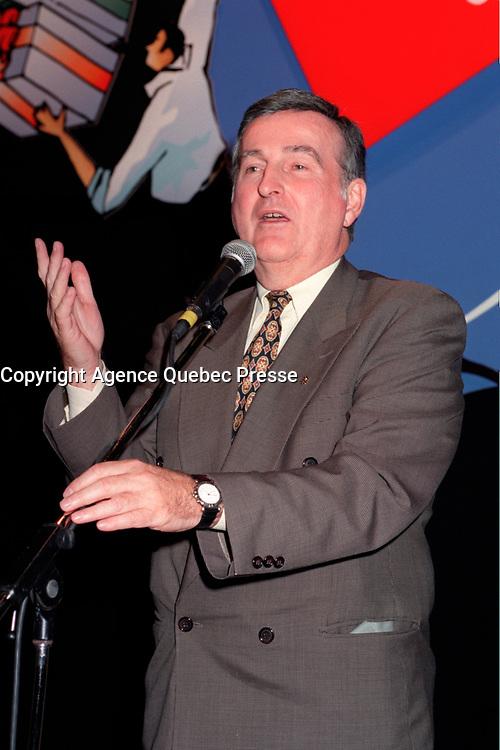 Pierre Bourque, 1999<br /> <br /> Photo : Pierre Roussel