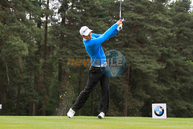 Martin Kaymer (GER) tees of on the 8th tee during Day 3 of the BMW PGA Championship Championship at, Wentworth Club, Surrey, England, 28th May 2011. (Photo Eoin Clarke/Golffile 2011)
