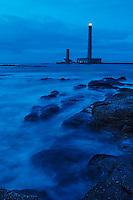 France, Manche (50), Cotentin, environs de Barfleur, Gatteville-le-Phare:  phare de Gatteville à la pointe de Barfleur  // France, Manche, Cotentin, Barfleur area,   Gatteville-le-Phare:  Gatteville lighthouse , Pointe de Barfleur