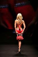 Roma 27/1/2004 <br /> Alta Moda Roma - Haute Couture - Fashion<br /> Dress collection of stylist Laura Pieralisi, collection inspired by Marylin Monroe.<br /> Foto Andrea Staccioli Insidefoto