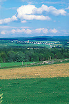 Village of St-Isidore, Eastern Townsips, Quebec, Canada