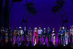 Paula Wagner, Jason Danieley, Eric Anderson, Samantah Barks, Andy Karl, Orfeh, Ezra Knight and cast during the Curtain Call for the Garry Marshall Tribute Performance of 'Pretty Woman:The Musical' at the Nederlander Theatre on August 2, 2018 in New York City.
