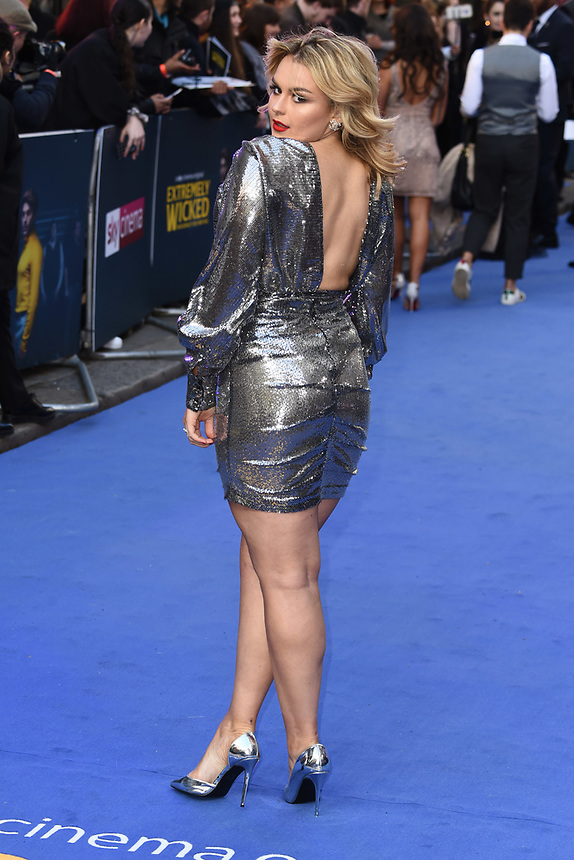 """Tallia Storm<br /> arriving for the """"Extremely Wicked, Shockingly Evil And Vile"""" premiere at the Curzon Mayfair, London<br /> <br /> ©Ash Knotek  D3495  23/04/2019"""