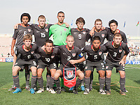 US Men's National Team Under 17 Starting Eleven US Men's National Team Under 17 defeated Malawi 1-0 in the second game of the FIFA 2009 Under-17 World Cup at Sani Abacha Stadium in Kano, Nigeria on October 29, 2009.