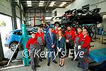 Richard Nicholl, Tim Dillon, Padraig McCarthy, Kieran O'Carroll, Michelle Lyne, Rami Khudhur<br /> Gramoz Gaxha and Stephen Mahony the service team at Randles brothers, Nissan dealers in Tralee.