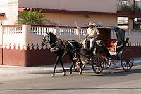 Cuba, Kutsche in Cardenas, Provinz Mantanzas