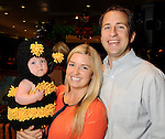 Erin and Daniel Fuchs with Emily at the M.D. Anderson Halloween party at The Galleria Sunday Oct 25, 2015.(Dave Rossman photo)