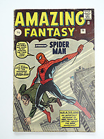 Comic that features the first ever appearance of Spider Man is being tipped to sell for £15K