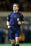 Motherwell v St Johnstone..30.12.15  SPFL  Fir Park, Motherwell<br /> Referee Crawford Allan<br /> Picture by Graeme Hart.<br /> Copyright Perthshire Picture Agency<br /> Tel: 01738 623350  Mobile: 07990 594431