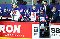 22nd May 2021, Riga Olympic Sports Centre Latvia; 2021 IIHF Ice hockey, Eishockey World Championship, Great Britain versus Russia;  Great Britain lose their first game