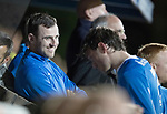 Dave Mackay Testimonial: St Johnstone v Dundee…06.10.17…  McDiarmid Park… <br />All smiles for Dave Mackay<br />Picture by Graeme Hart. <br />Copyright Perthshire Picture Agency<br />Tel: 01738 623350  Mobile: 07990 594431