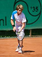 August 4, 2014, Netherlands, Dordrecht, TC Dash 35, Tennis, National Junior Championships, NJK,  Niklas Eltingh (NED)<br /> Photo: Tennisimages/Henk Koster