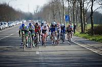 decisive breakaway group formed after the Oude Kwaremont climb<br /> <br /> Kuurne-Brussel-Kuurne 2016