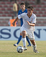 Luis Gil. Italy defeated the US Under-17 Men's National Team 2-1 in Kaduna, Nigera on November 4th, 2009.