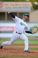 Clinton LumberKings pitcher David Holman #39 during a game against the Burlington Bees on May 23, 2013 at Ashford University Field in Clinton, Iowa.  Clinton defeated Burlington 6-5.  (Mike Janes/Four Seam Images)