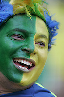Brazilian Fan. Brazil defeated Australia, 2-0, in their FIFA World Cup Group F match at the FIFA World Cup Stadium, Munich, Germany, June 18, 2006.