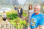 Members of the Aunascaul Allotments pictured at the allotments on Sunday.<br /> Front right: Noel Spillane.<br /> Back l to r: Susie Spreitzerova, Elizabeth Brookes, Aidan Gillespie and Myra Spillane.