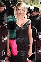 Chloe Sims<br /> arrives for the T.R.I.C. Awards 2017 at the Grosvenor House Hotel, Mayfair, London.<br /> <br /> <br /> ©Ash Knotek  D3240  14/03/2017