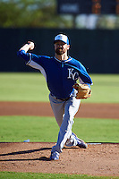 Kansas City Royals pitcher Louis Coleman (41) during an instructional league game against the San Francisco Giants on October 23, 2015 at the Papago Baseball Facility in Phoenix, Arizona.  (Mike Janes/Four Seam Images)
