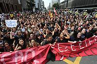 24.08.2018 - Protesto de estudantes contra a reforma do Ensino Médio em SP