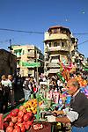Israel, Haifa, the Three Holidays festival in Wadi Nisnas
