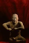 Olmec wrestler; NMAH